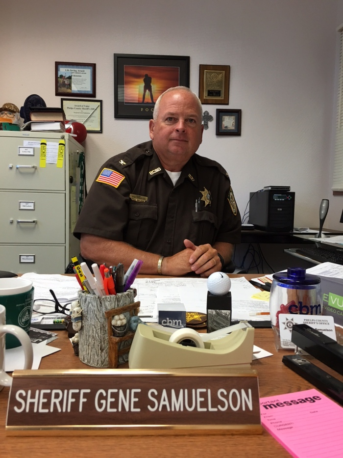 Gene Samuelson, Sheriff